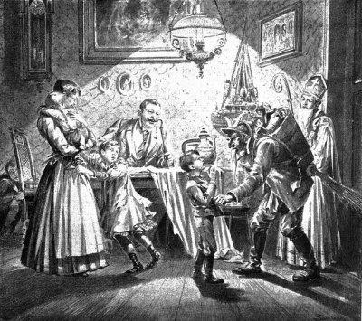 История Санта Клауса: из монстра в доброго старика