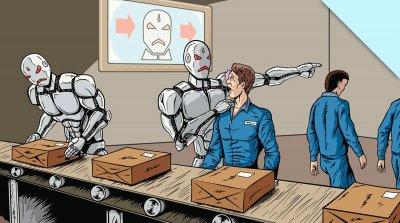 Роботы смогут занять 45% рабочих мест в скором будущем?
