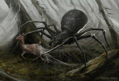 Гигантские пауки-людоеды существуют