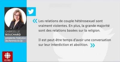 ЛГБТ: Канадский трансгендер требует запретить отношения между мужчинами и женщинами...