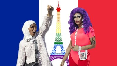 ЛГБТ Франции начали войну против мусульман