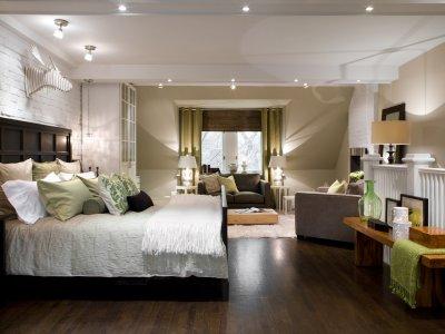 Освещение: использование света в интерьере спальни