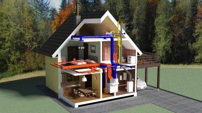 Ассортимент товаров для отопления, водоснабжения и канализации