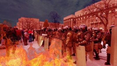 Во Владикавказе начались бунты против самоизоляции