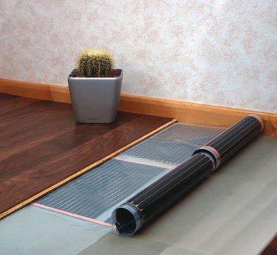 Теплый пол для ламината: особенности выбора и монтажа