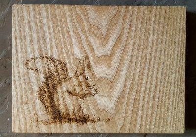 Как возникла пирография - искусство выжигания по дереву