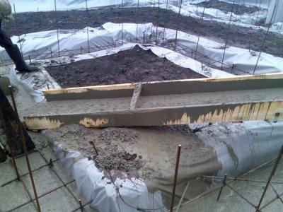 Заливка бетона в холодную погоду