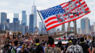 Черный расизм внезапно излечил коронавирус в Нью-Йорке