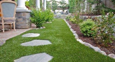 Применение искусственных газонов в ландшафтном дизайне