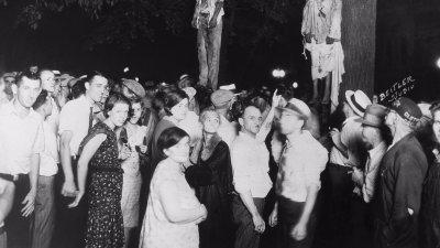 Еврейский фашизм с негритянским лицом
