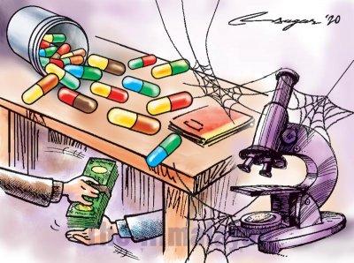 Большая фарма покупает научное мнение в медицинских журналах