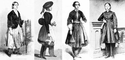 Из истории женских брюк: взлеты и падения блумерсов