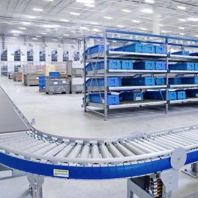 Роликовые конвейеры: особенности и преимущества
