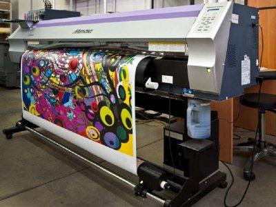 Широкоформатная печать и принцип работы принтера