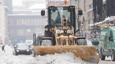 Зимняя уборка дорог от снега
