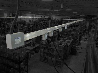 Осветительный шинопровод: использование и причины популярности