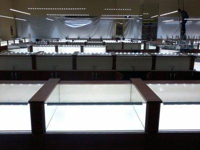 Светодиодная подсветка витрин
