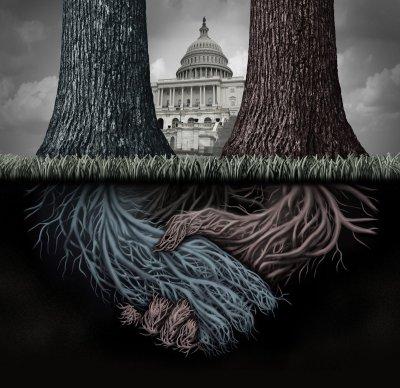 Видимое и невидимое правительство США