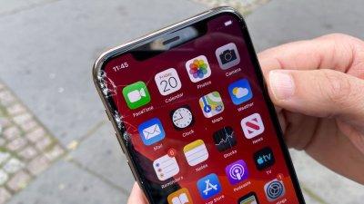 Дисплей iphone 11 неустойчив к царапинам