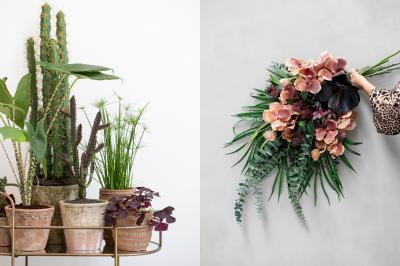 Искусственные цветы: старый новый тренд