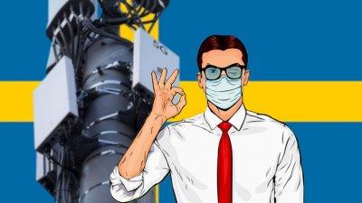 Противостояние коронабесию и 5g по принципу шведов