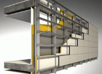 Вентилируемый фасад: плюсы и недостатки