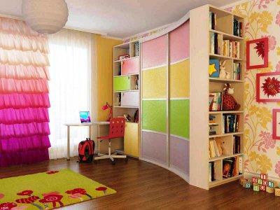Выбираем шкаф для детской комнаты