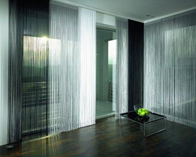 Нитевые шторы - лучший выбор для роскошного интерьера