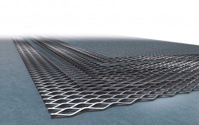 Просечно-вытяжной лист – современный строительный материал