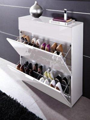 Как выбрать идеальную обувницу для прихожей