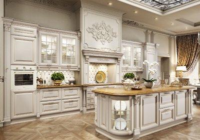 Преимущества и недостатки кухонной мебели из массива дерева