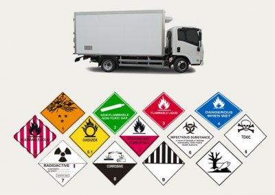 Особенности перевозок опасных грузов посредством автомобильного транспорта