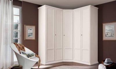 Угловые шкафы-купе – практичная модель гардеробной