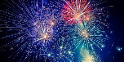 История праздничных фейерверков