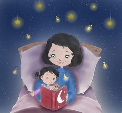 Насколько полезно читать сказки детям на ночь