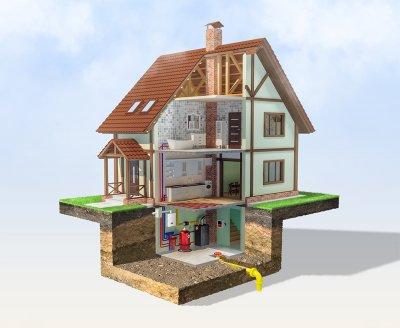 Цокольный этаж – практичная деталь проекта жилого дома