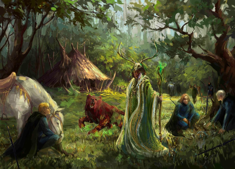 Древний гороскоп кельтских друидов