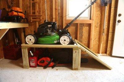 Как подготовить газонокосилку к зиме