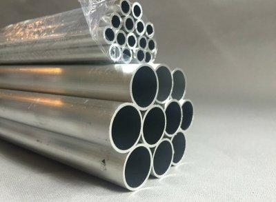 Круглые и овальные трубы из алюминия