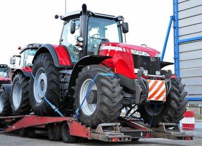 Перевозка тракторов и другой крупногабаритной техники