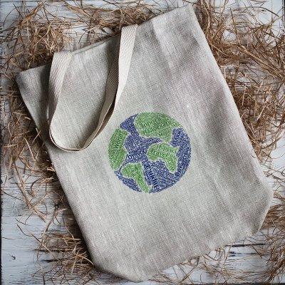 Эко-сумки: спасем планету вместе