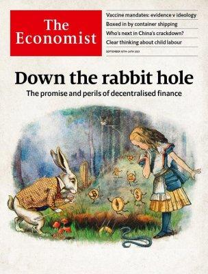 Новая обложка The Economist: глобальный кризис и квантовая антицивилизация
