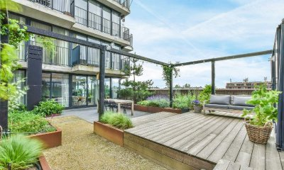Терраса на крыше: оптимизация пространства зеленой крыши