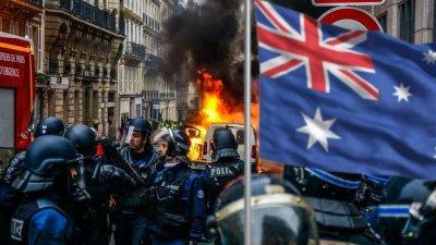 Австралию накрыло ковид фашизмом