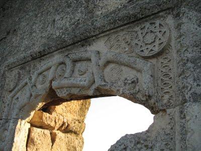Звезда Инглiи на древней крепости