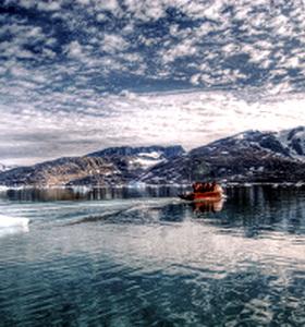 Льды Арктики сокращаются на 50 000 кв км в год