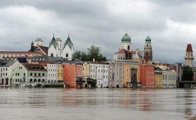 Центральная Европа уходит под воду