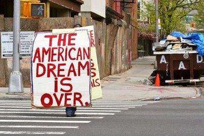 Американpская мечта закончилась