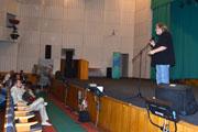 Встреча Сергея Стрижака со зрителями в Житомире 16 сентября 2011г. (Видео)