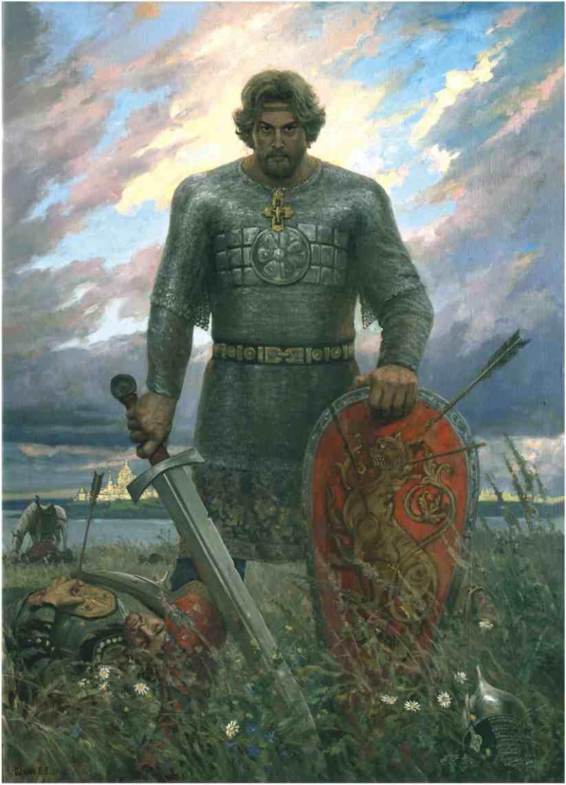 Древнерусские воины картинки